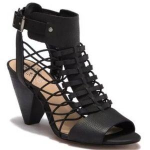 Vince Cumuto Evel caged sandal in black